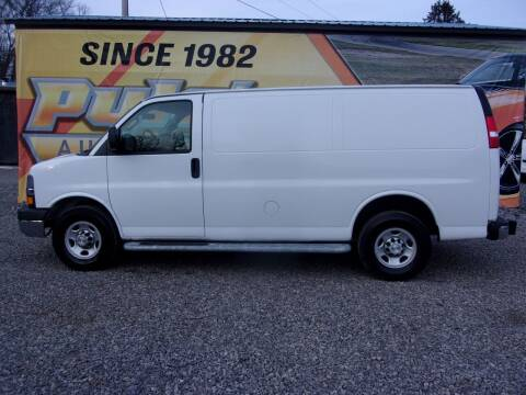 2019 Chevrolet Express Cargo for sale at Pyles Auto Sales in Kittanning PA