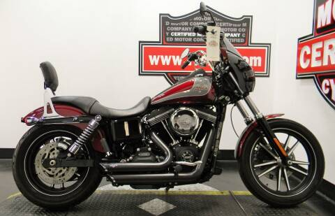 2015 Harley-Davidson STEET BOB CUSTOM for sale at Certified Motor Company in Las Vegas NV