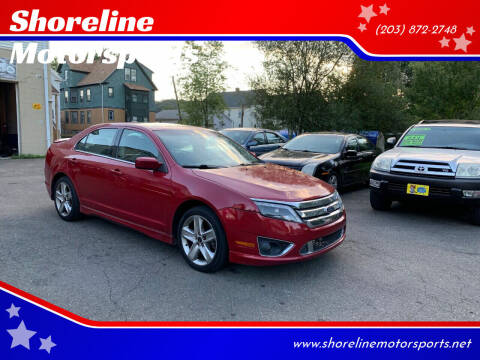 2010 Ford Fusion for sale at Shoreline Motorsports in Waterbury CT