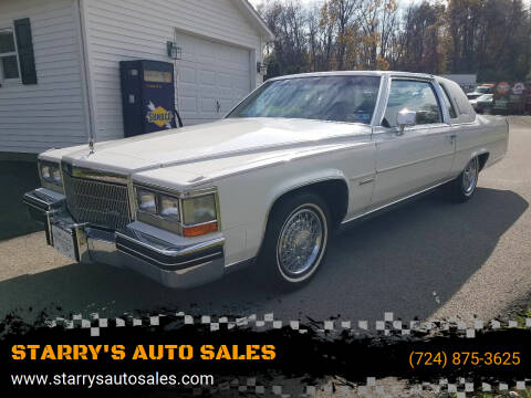 1983 Cadillac Fleetwood Brougham for sale at STARRY'S AUTO SALES in New Alexandria PA