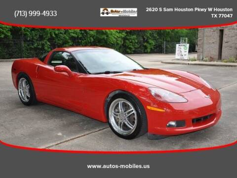 2007 Chevrolet Corvette for sale at AUTOS-MOBILES in Houston TX