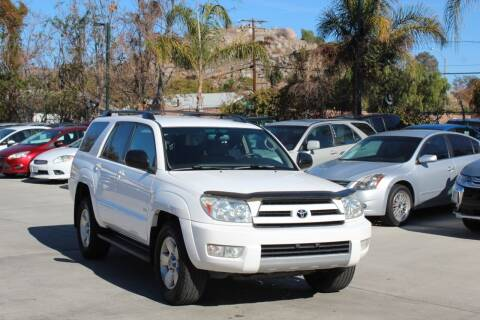 2004 Toyota 4Runner for sale at Car 1234 inc in El Cajon CA