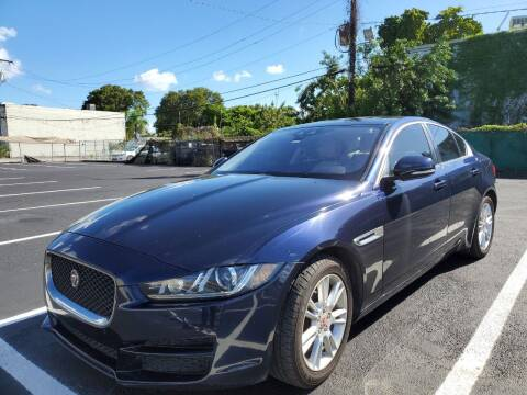 2017 Jaguar XE for sale at Eden Cars Inc in Hollywood FL