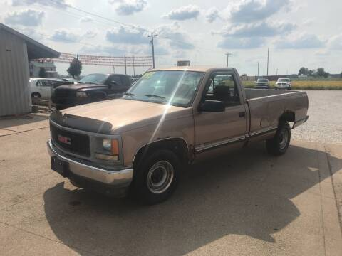 1995 GMC Sierra 1500 for sale at Family Car Farm in Princeton IN