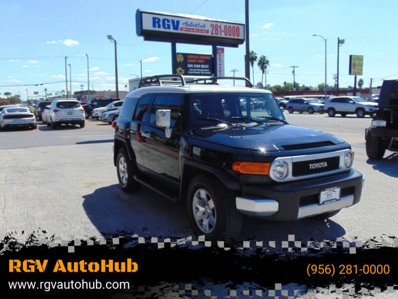 2008 Toyota FJ Cruiser for sale at RGV AutoHub in Harlingen TX