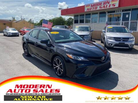 2018 Toyota Camry for sale at Modern Auto Sales in Hollywood FL