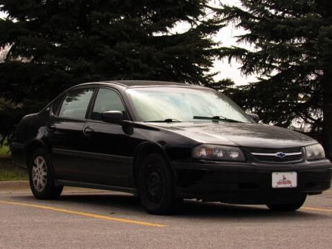 2002 Chevrolet Impala for sale at NY AUTO SALES in Omaha NE