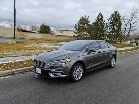 2017 Ford Fusion Energi for sale at A.I. Monroe Auto Sales in Bountiful UT