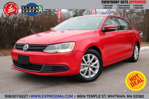 2014 Volkswagen Jetta for sale at Auto Sales Express in Whitman MA