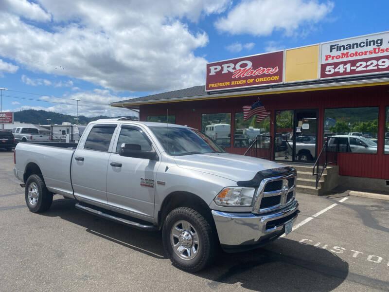 2015 RAM Ram Pickup 2500 for sale at Pro Motors in Roseburg OR