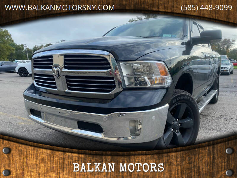 2014 RAM Ram Pickup 1500 for sale at BALKAN MOTORS in East Rochester NY