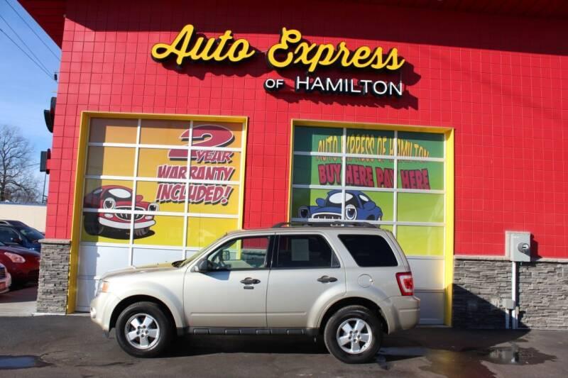 2010 Ford Escape for sale at AUTO EXPRESS OF HAMILTON LLC in Hamilton OH