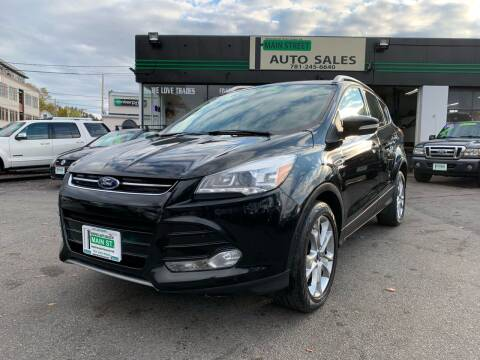 2014 Ford Escape for sale at Wakefield Auto Sales of Main Street Inc. in Wakefield MA