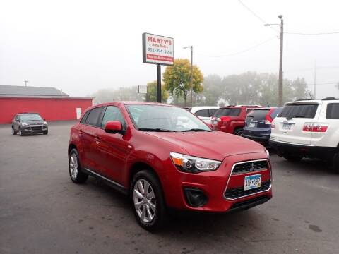 2015 Mitsubishi Outlander Sport for sale at Marty's Auto Sales in Savage MN