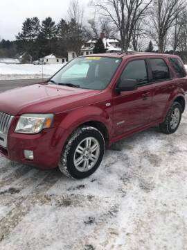 2008 Mercury Mariner for sale at ELITE AUTOMOTIVE in Crandon WI