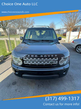 2012 Land Rover LR4 for sale at Choice One Auto LLC in Beech Grove IN
