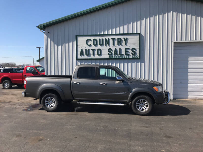 2006 Toyota Tundra for sale at COUNTRY AUTO SALES LLC in Greenville OH
