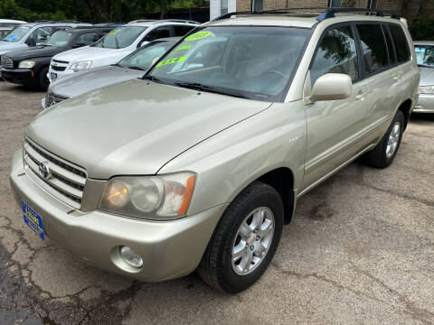 2003 Toyota Highlander for sale at 5 Stars Auto Service and Sales in Chicago IL