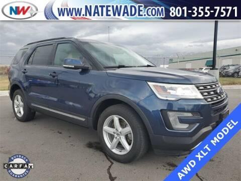 2017 Ford Explorer for sale at NATE WADE SUBARU in Salt Lake City UT
