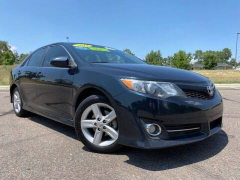 2013 Toyota Camry for sale at UNITED Automotive in Denver CO