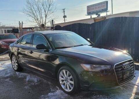 2013 Audi A6 for sale at Wisdom Auto Group in Calumet Park IL