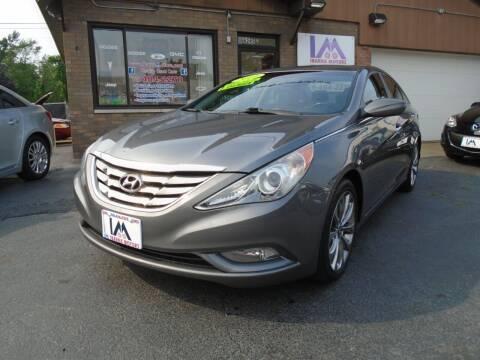 2011 Hyundai Sonata for sale at IBARRA MOTORS INC in Cicero IL