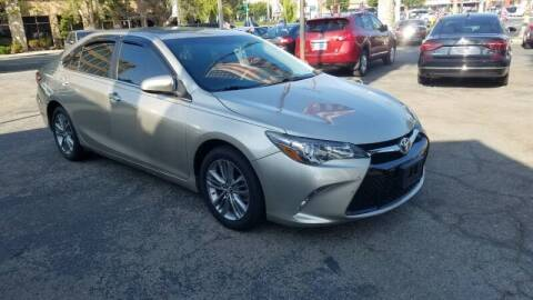 2015 Toyota Camry for sale at In-House Auto Finance in Hawthorne CA