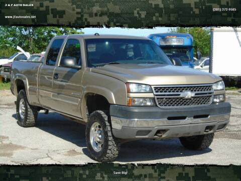2005 Chevrolet Silverado 2500HD for sale at J & F AUTO SALES in Houston TX