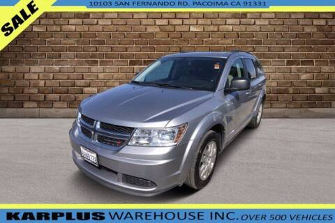 2018 Dodge Journey for sale at Karplus Warehouse in Pacoima CA