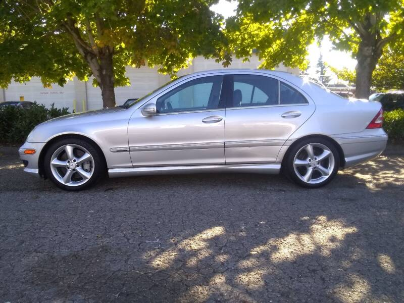 2005 Mercedes-Benz C-Class for sale at Car Guys in Kent WA