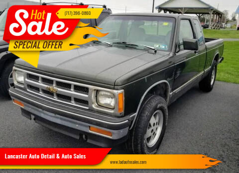 1993 Chevrolet S-10 for sale at Lancaster Auto Detail & Auto Sales in Lancaster PA