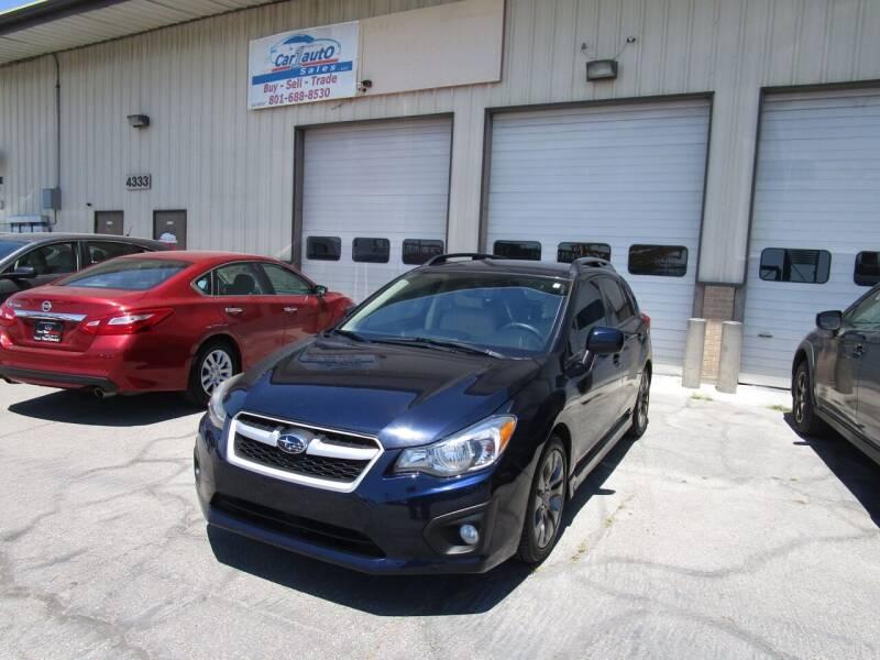 2014 Subaru Impreza for sale at Car 1 Auto Sales in Murray UT