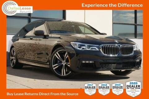 2018 BMW 7 Series for sale at Dallas Auto Finance in Dallas TX
