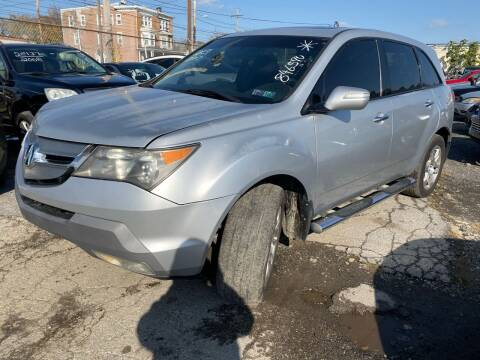 2007 Acura MDX for sale at Philadelphia Public Auto Auction in Philadelphia PA