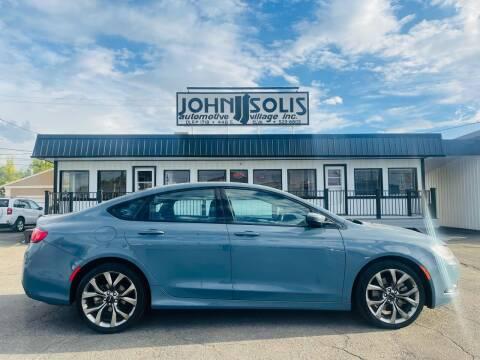2015 Chrysler 200 for sale at John Solis Automotive Village in Idaho Falls ID
