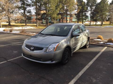 2012 Nissan Sentra for sale at QUEST MOTORS in Englewood CO
