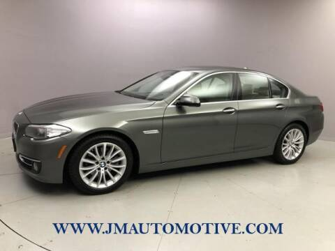 2015 BMW 5 Series for sale at J & M Automotive in Naugatuck CT