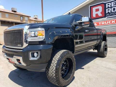 2015 GMC Sierra 2500HD for sale at Red Rock Auto Sales in Saint George UT