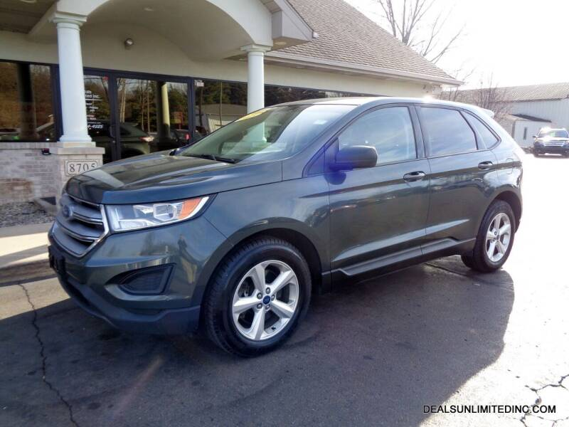 2015 Ford Edge for sale at DEALS UNLIMITED INC in Portage MI