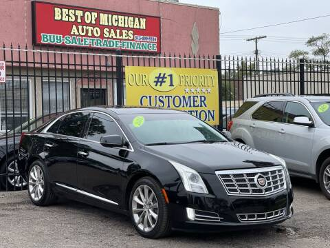 2014 Cadillac XTS for sale at Best of Michigan Auto Sales in Detroit MI