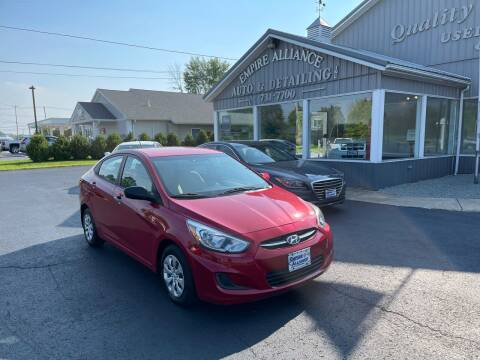 2016 Hyundai Accent for sale at Empire Alliance Inc. in West Coxsackie NY