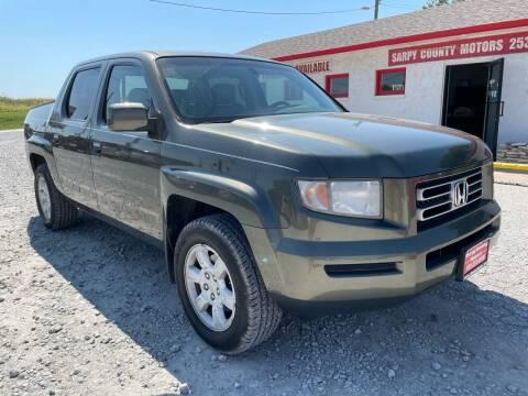 2006 Honda Ridgeline for sale at Sarpy County Motors in Springfield NE