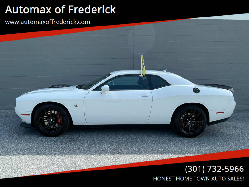 2020 Dodge Challenger for sale at Automax of Frederick in Frederick MD