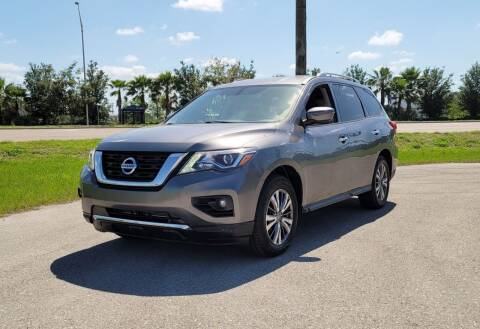 2018 Nissan Pathfinder for sale at FLORIDA USED CARS INC in Fort Myers FL