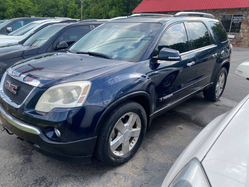 2007 GMC Acadia for sale at University Auto Sales of Little Rock in Little Rock AR
