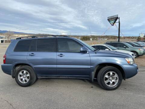2007 Toyota Highlander for sale at Skyway Auto INC in Durango CO