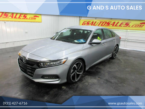 2018 Honda Accord for sale at G and S Auto Sales in Ardmore TN