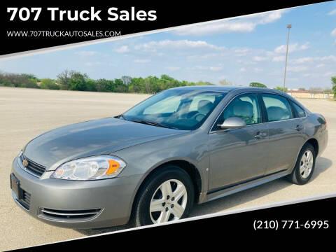 2009 Chevrolet Impala for sale at 707 Truck Sales in San Antonio TX