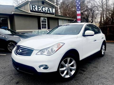 2010 Infiniti EX35 for sale at Regal Auto Sales in Marietta GA