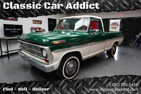 1969 Ford Ranger for sale at Classic Car Addict in Mesa AZ